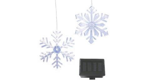 8 Festive Led Christmas Lights To Save You Energy Green Solar Snowflake Lights