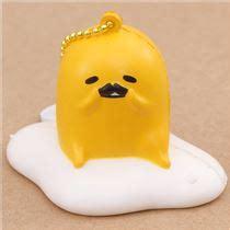 Gudetama Muntah Slime Squishy Anti Stress gudetama egg yolk with mustache squishy charm kawaii food squishy squishies kawaii