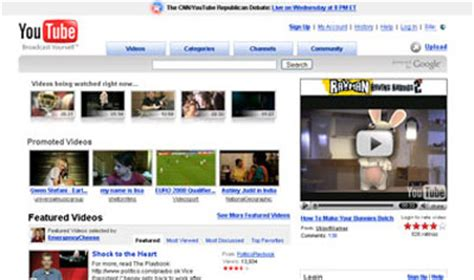 youtube first layout youtube layout youtube layout howstuffworks