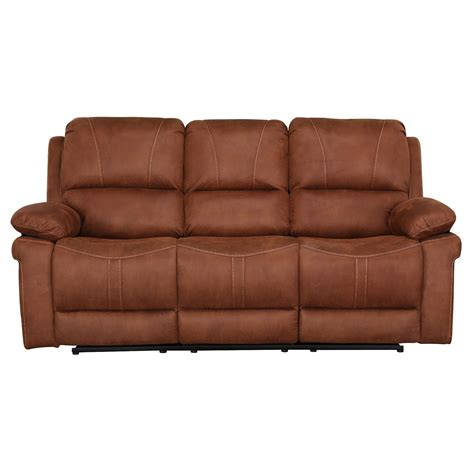 three seater recliner sofa indiana three seater recliner