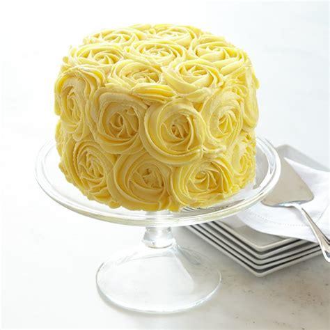 Wedding Cake Yellow Roses by Yellow Cake Williams Sonoma