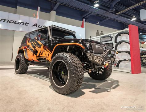 sema jeep 2016 jeeps of sema 2016 gallery drivingline