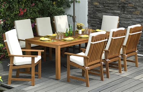 Wooden Patio Dining Sets Wood Garden Furniture Buyers Guide From Out And Out Original