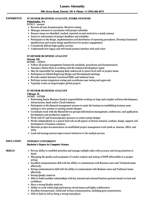 business analyst resume templates samples gallery creawizard com