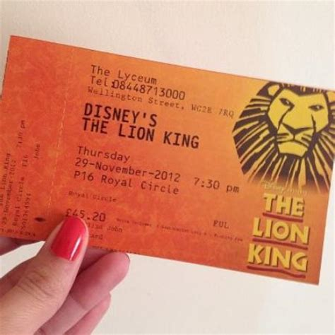 tickets picture of the king tripadvisor