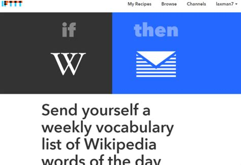 how to get weekly vocabulary list of word of the day