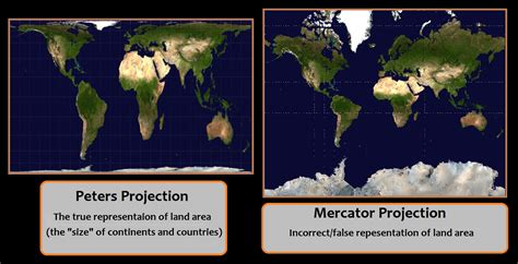 peters projection map the true size of our worlds map mercator projection vs peters projection woahdude