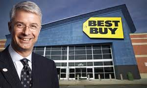 best buy ceo best buy ceo hubert joly to receive 6 25million payout if