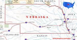 map us nebraska nebraska maps