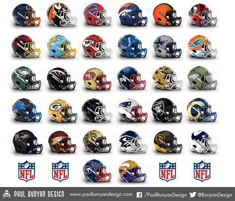 concept design nfl helmets nfl concept helmets give a fresh take to old designs 33