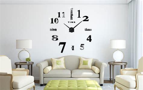 Jam Dinding Besar Diy 80 130cm Diameter Elet00661 jam dinding diy 80 130cm diameter elet00659 silver media teknologi proyektor led murah