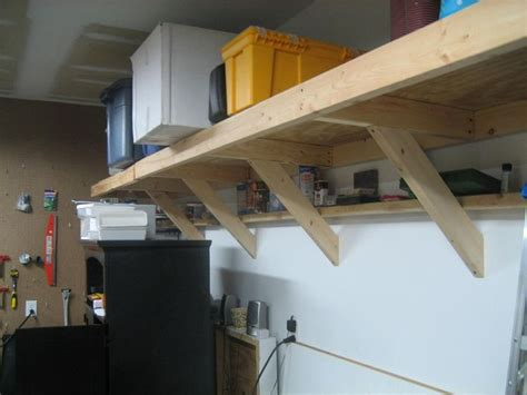 Garage Shelving Fixed To Wall 25 Best Ideas About Garage Shelving Plans On