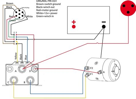 warn winch controller wiring diagram wiring diagram and