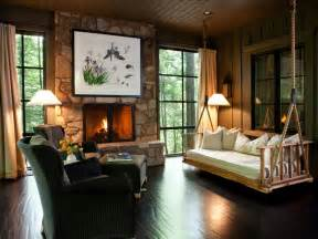 Hgtv Home Decor by Rustic Retreats Luxurious Style Interior Design Styles