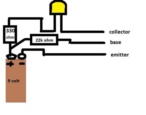 how does bc547 transistor work simple bc547 transistor tester do it yourself