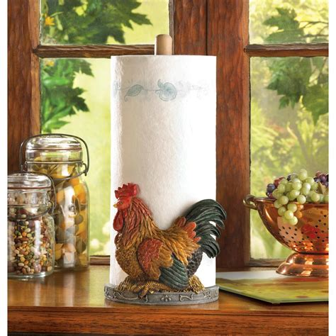 country style paper towel holder wholesale country style rooster paper towel holder stand