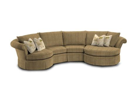 sectional sofa with round chaise small sectional sofa with double round chaise lounge and