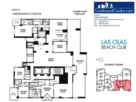 las olas beach club floor plans las olas beach club floor plans las olas beach club