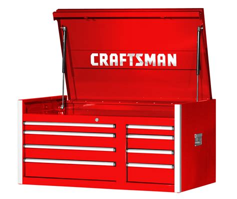 craftsman tool drawer stuck craftsman 42 in 8 drawer pro top chest with integrated