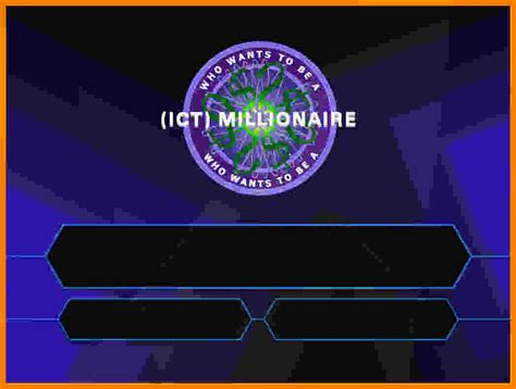 who want to be a millionaire template powerpoint with sound powerpoint template who wants to be a millionaire image