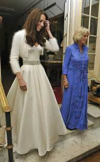 royal wedding reception kate middleton changes into a