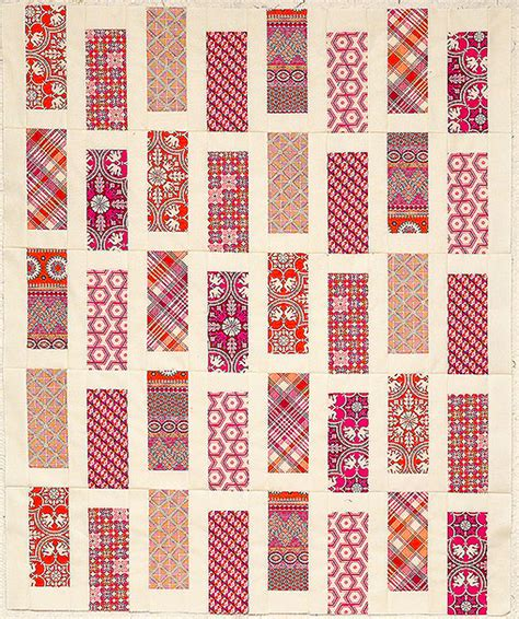 geometric pattern quilt shuffled bricks modern geometric quilt pattern download