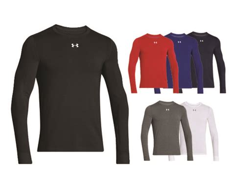 wave infrared ls ua infrared longsleeve crew from wave one sports