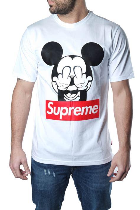 t shirt supreme tshirt supreme originale maniche corte sta mickey mouse