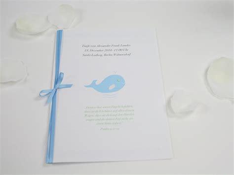 Vorlage Word Taufe Einladungskarten Taufheft Kirchenblatt Motiv Kleiner Wal Ein Designerst 252 Ck Papiergold