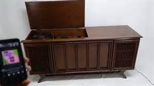 Sylvania Record Player Cabinet For Sale Mid Century Modern Sylvania Stereo Console Record