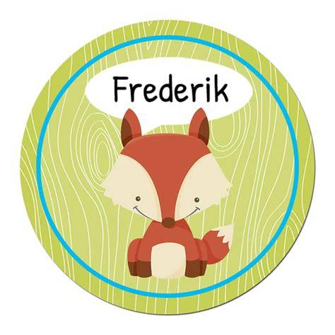Aufkleber Namen Kind by 24 Individuelle Sticker Schule Mit Fuchs Motiv F 252 R