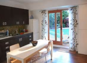 Curtains For Sliding Doors In Kitchen 30 Modern Curtains To Adorn Your Sliding Glass Doors In Style