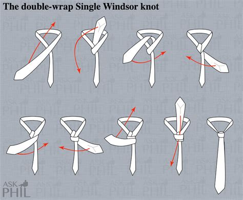 how to tie a tie ask phil