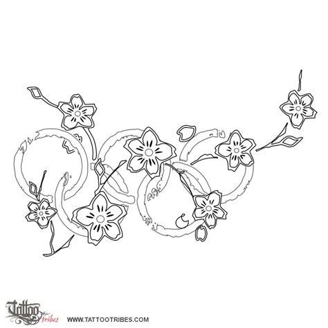 disegno fiore di ciliegio of olympic blossoms cherry blossoms