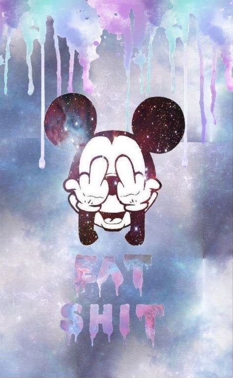mickey mouse tumblr wallpaper i do edits mickey galaxy ish theme my edit not my art