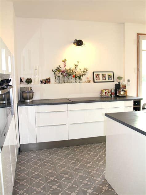 cuisine brillant cuisine blanc brillant ikea cuisine en image