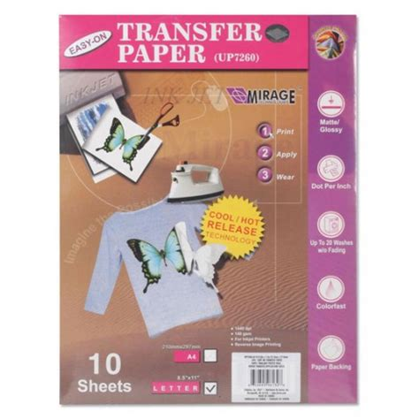 Craft Transfer Paper - iron on transfer paper darice crafts up7260 is 10 the