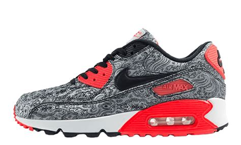 release nike air max 90 paisley infrared onemesh