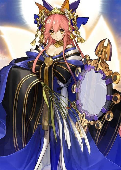 psp fate extra tamamo no mae servant caster psp anime and crunchyroll quot fate grand order quot fuss of valentine s lady