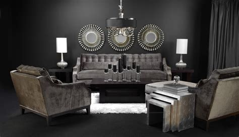 Sleek Modern Living Room Masculine Sleek And Chic Living Contemporary Living Room By Z