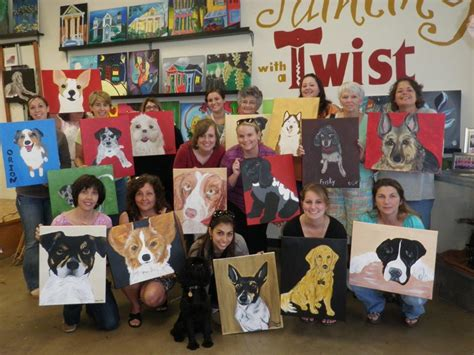 painting with a twist painting with a twist paint your pet charlottehappening