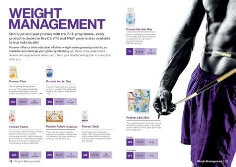 weight management brochure sport weight management brochure forever living products