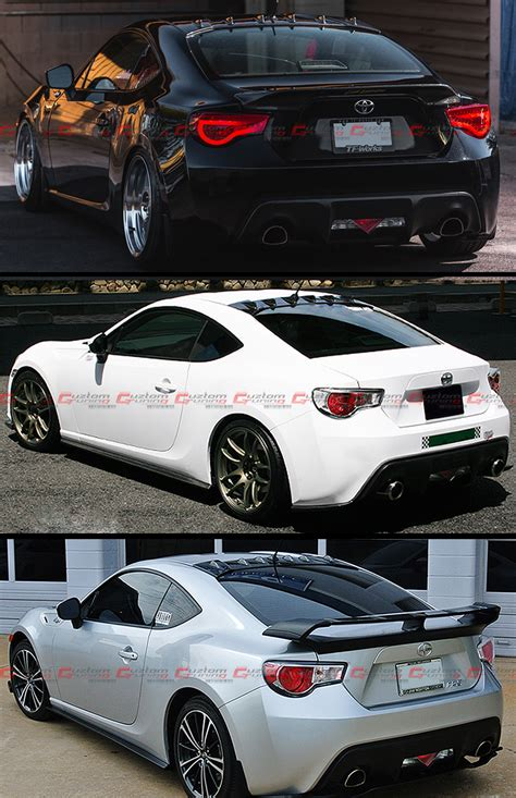 frs scion jdm for 2013 2016 subaru brz scion frs jdm rear roof aero