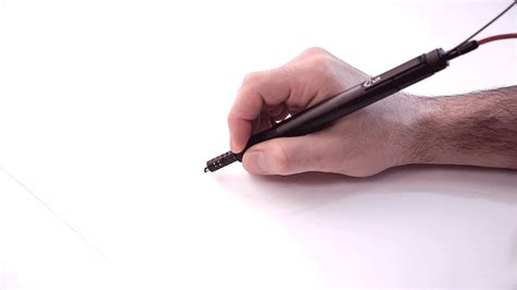 3d plastic doodle pen amazing 3d printing pen draws plastic objects in thin air