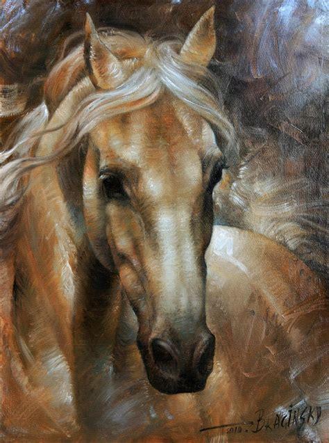painting horses 2 by arthur braginsky