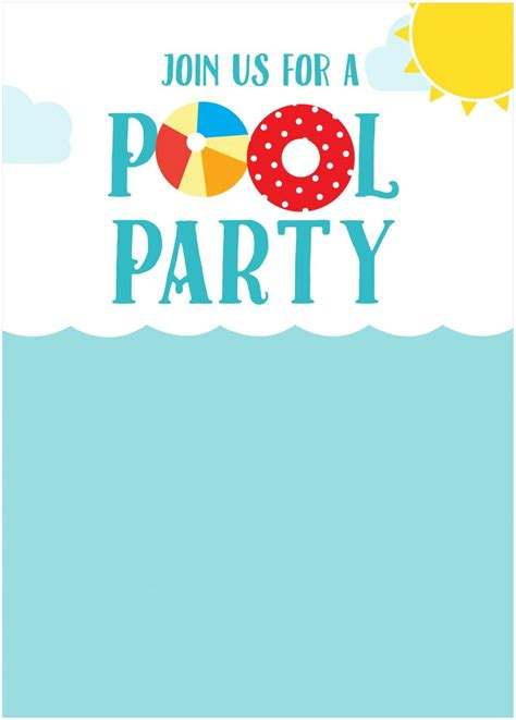 Inspiration Home Design Center free summer party invitations somewhat simple