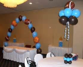 sports baby shower centerpieces sports themed baby shower decorations best baby decoration