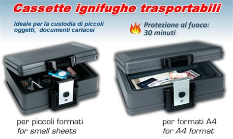 cassetta ignifuga cassetta protezione documenti ignifuga