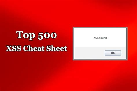 xss worm tutorial top 500 most important xss cheat sheet for web application