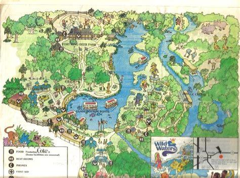 theme park usa map retro photo tr 1980 silver springs fl opryland usa